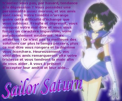 Test - Quelle Sailor es-tu ? Saturne